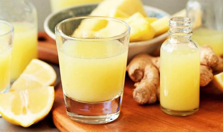 Имбирный напиток для иммунитета и бодрости