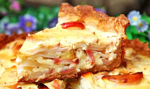 Яблочный пирог «Цветаевский»