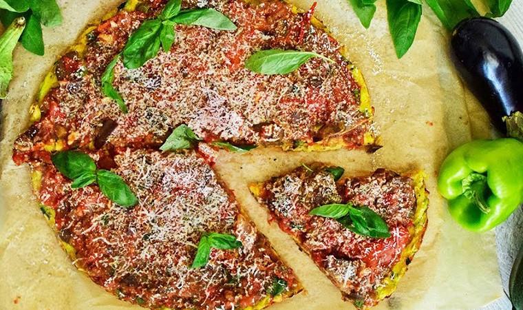 Пицца без выпечки на сковороде