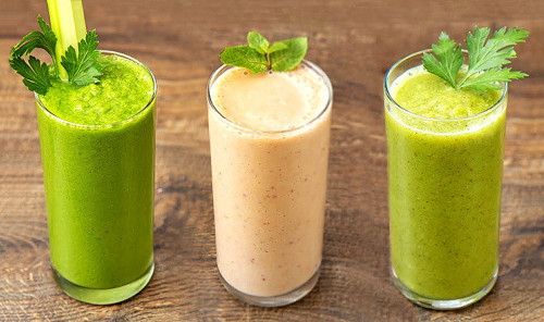 Витаминные смузи - 3 вкусных рецепта