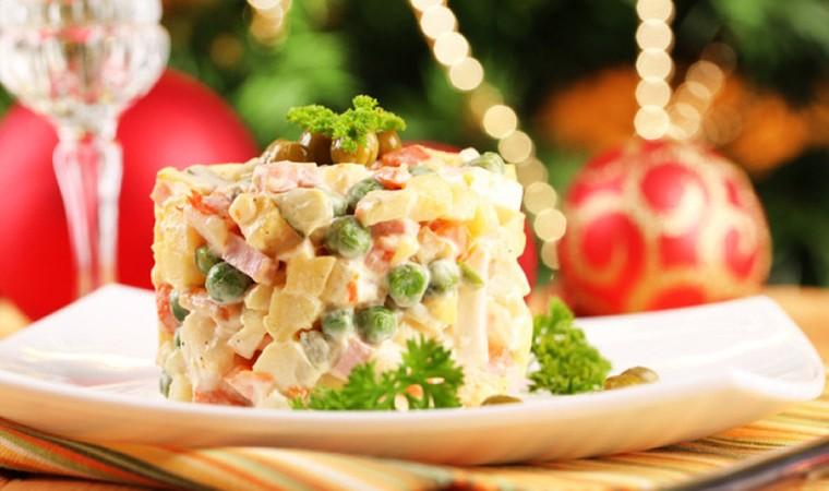 Диетические салаты для новогоднего стола