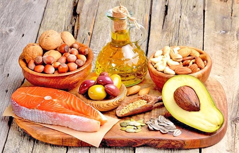 Полезные жиры в продуктах питания
