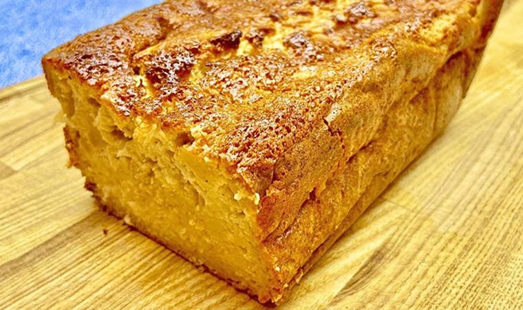 Яблочный кекс с медом