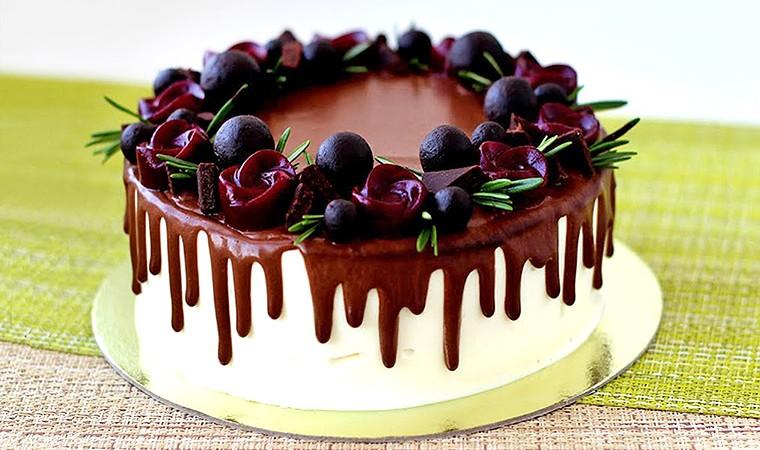 Шоколадная глазурь для украшения тортов