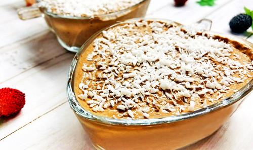 Шоколадное суфле из мягкого творога