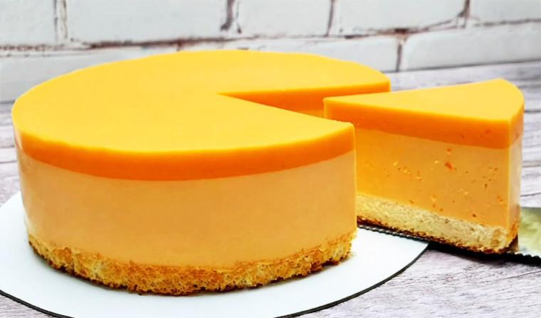 Тыквенный муссовый торт