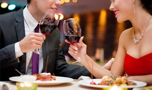 Романтический ужин для худеющих
