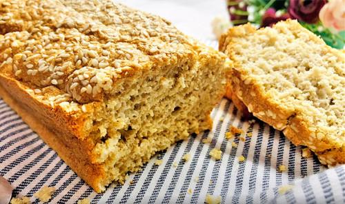 Цельнозерновой хлеб с отрубями в духовке