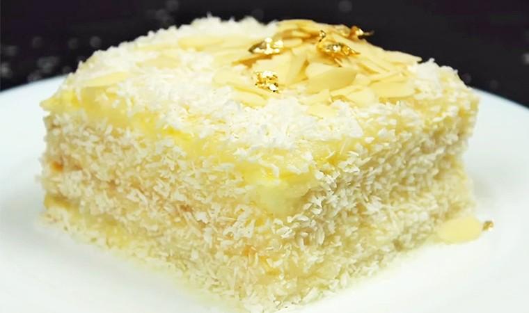 Кокосовый торт «Рафаэлло»