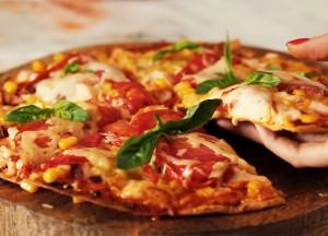 Низкокалорийная пицца за 15 минут