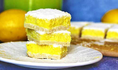 Протеиновые лимонные батончики