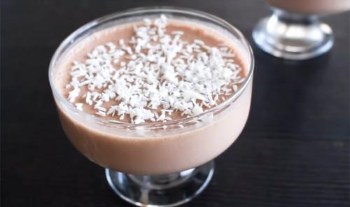 Суфле из ряженки и какао