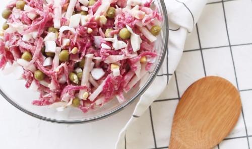 Полезные зимние салаты из сезонных овощей