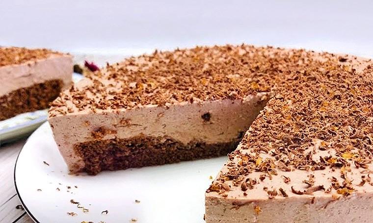 Шоколадный чизкейк в микроволновке