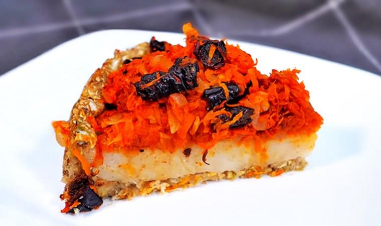 Постный овощной пирог