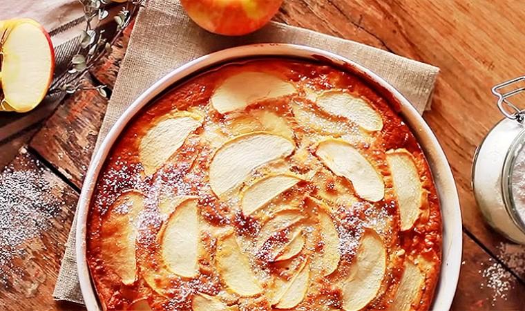 Низкокалорийный яблочный пирог
