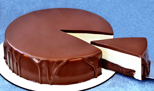 Торт с ванильным кремом «Эскимо»