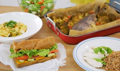 Подборка полезных обедов на всю рабочую неделю