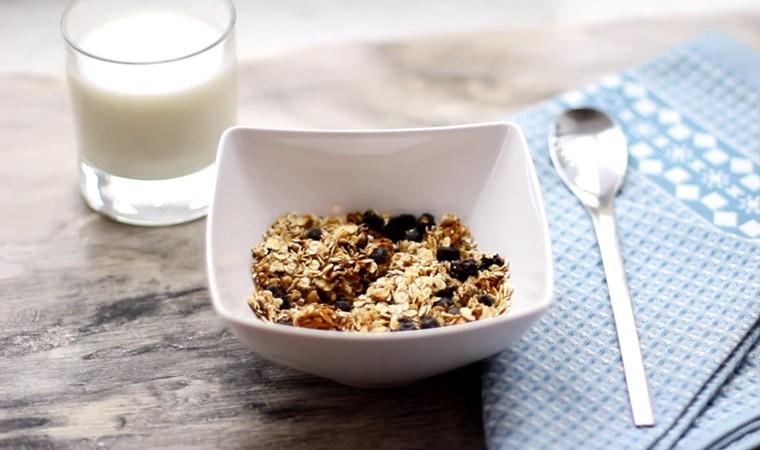Домашние мюсли на завтрак