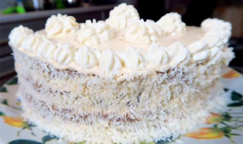 Низкокалорийный торт в микроволновке